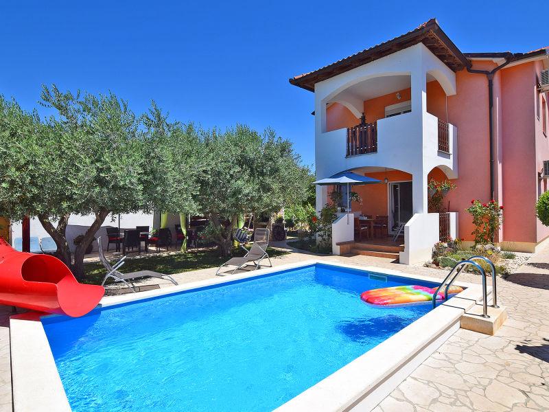 Ferienhaus Vesna für 10-12 mit Pool