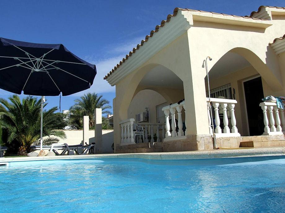Ferienhaus mit Schwimmbad in Vinaros