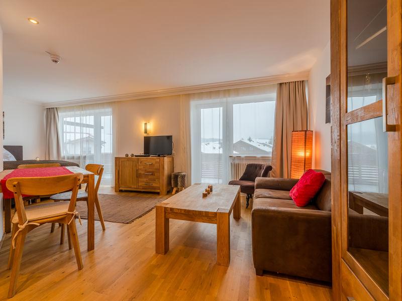 Ferienwohnung Alpensonne mit Hotelanbindung + Golf