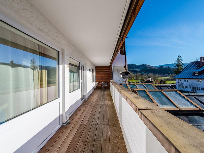 Ferienwohnung Alpenblick mit Hotelanbindung + Oberstaufen Plus Golf