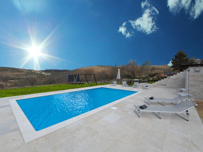 Villa Vale in Buje mit privatem Pool
