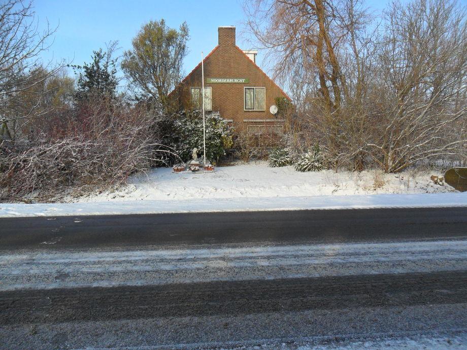 Noorderburcht im Schnee