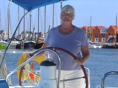 Your host Gerda Braamhorst