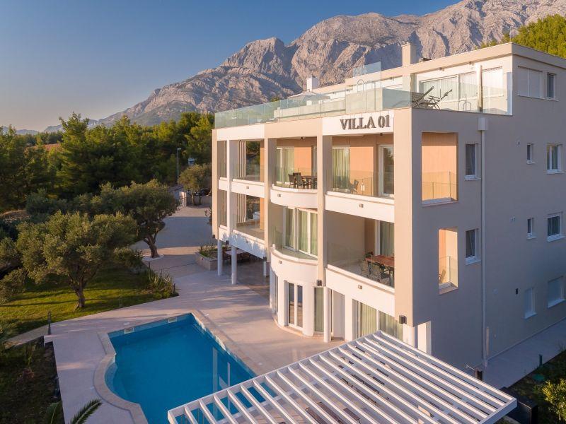 Ferienwohnung Promajna Villa 01 - Apartment 1 (6+2, Erdgeschoss)