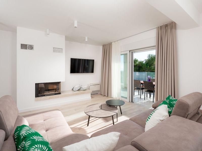Ferienwohnung Promajna Villa 01 - Apartment 4 (4+2, 2.Stockwerk)