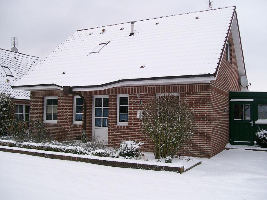 Ferienhaus Dosty, Winter