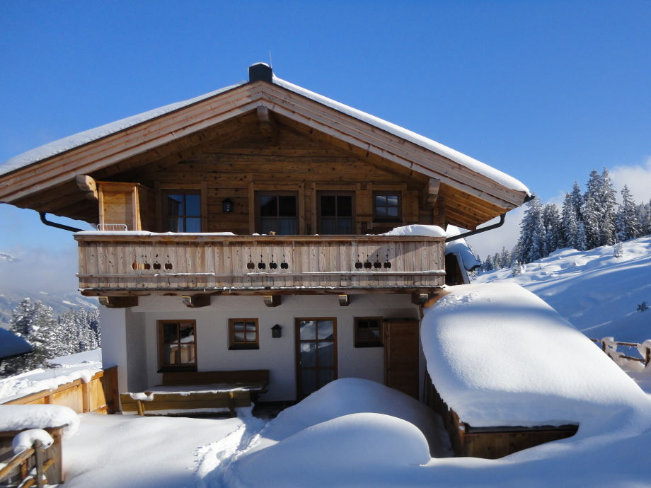 Skihütte Lang im Winter