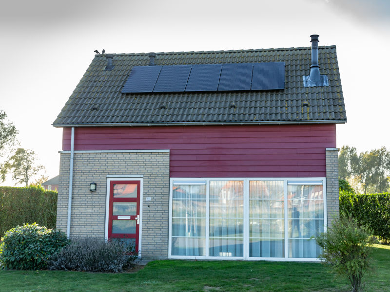 Ferienhaus 278 - Kustpark Village Scaldia