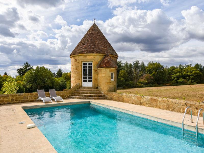 Landhaus Manoir avec piscine privée