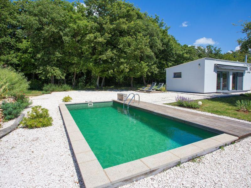 Ferienhaus Loborika mit Pool
