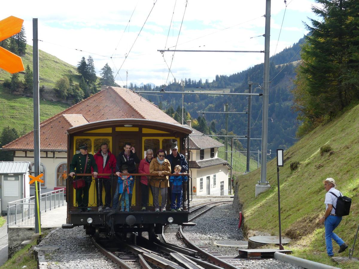 Rigi Bahn With Steam Engine