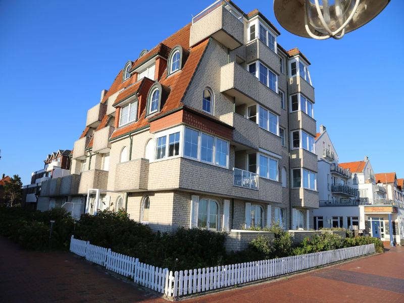 Apartment Strandvilla Marina 18, Balkon mit Meerblick