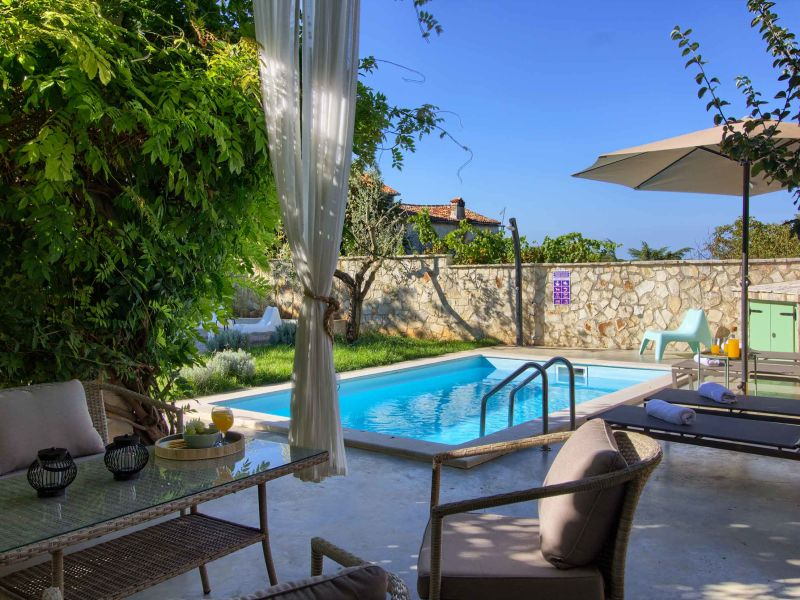 Villa Kalu mit Pool in der Nähe von Rovinj