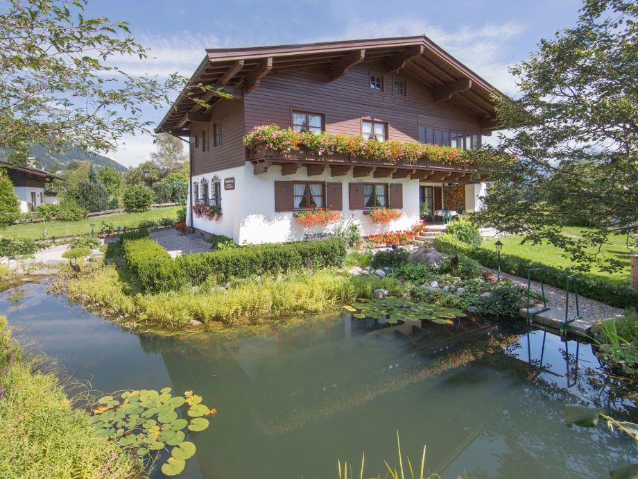 Haus Südseite mit Teich 130 qm 0,1 - 3 m tief