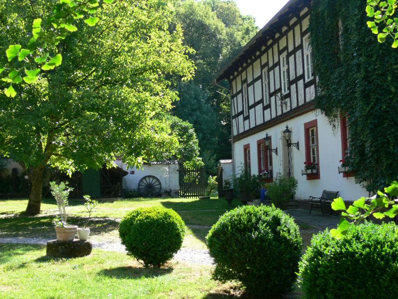 Ferienwohnung Hofgarten im Alten Forstamt