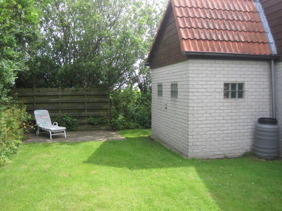 Garten Hinterseite