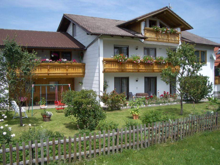Hausansicht Ferienwohnung Miller im Allgäu