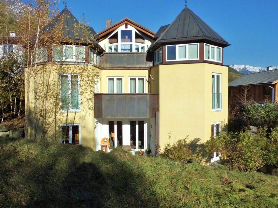 Villa Virgen von Westen