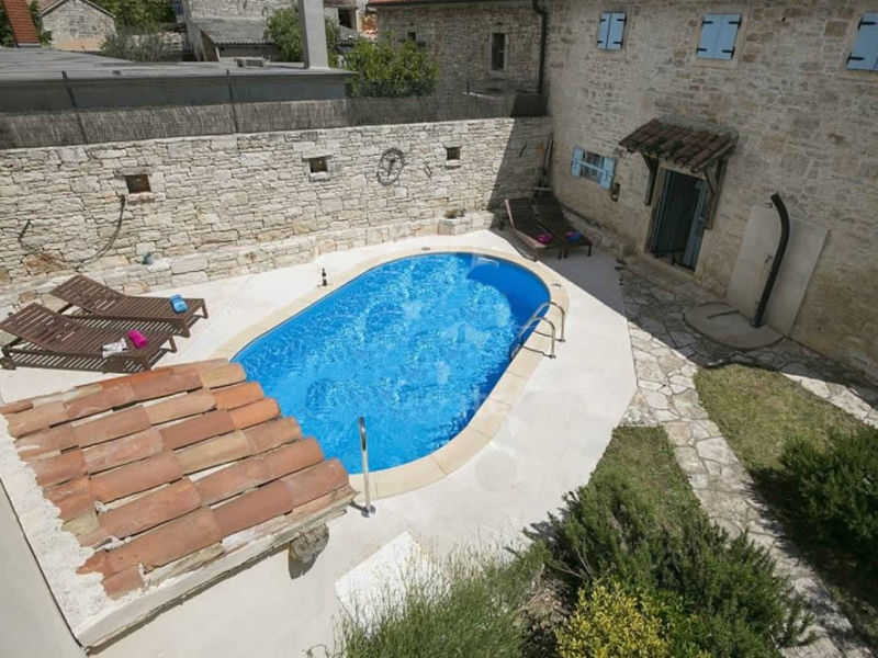 Villa Palentar mit Pool in Pula