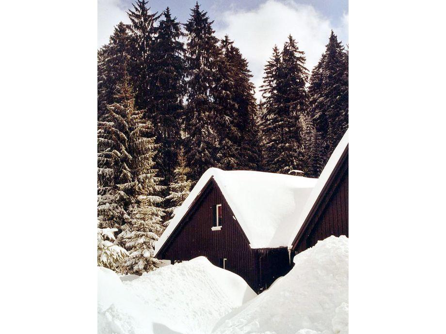 Zugang im Winter