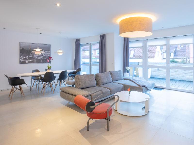 Ferienhaus Stadtflair mit Mini-Penthouse