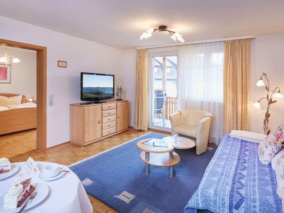 Ferienwohnung Südschwarzwald - Wohnzimmer