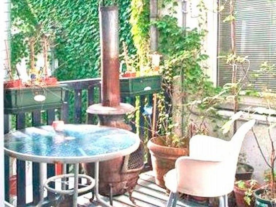 Ruhe auf der privaten Terrasse