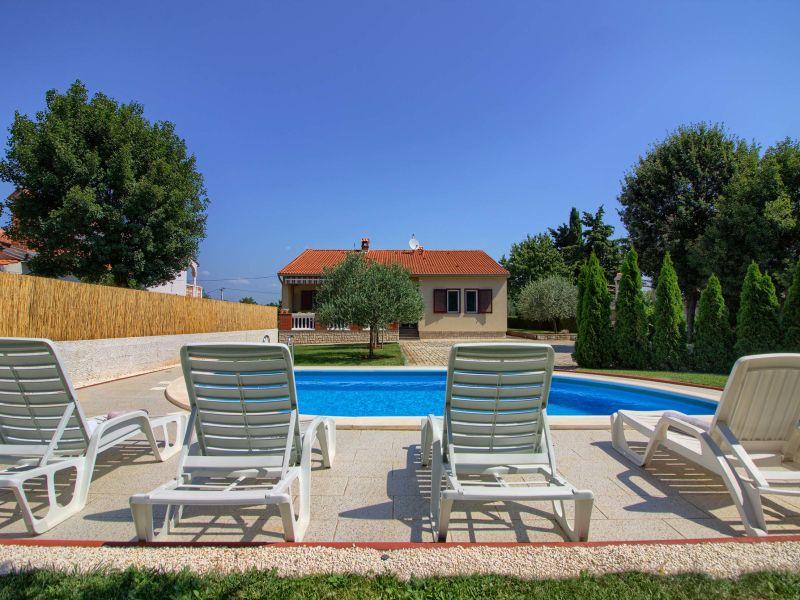 Villa Kristina with pool near Pula