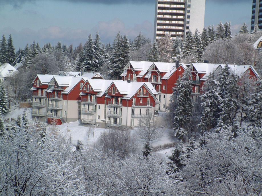 Haus Tannenblick, Winteransicht
