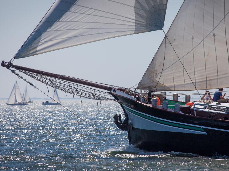 Segelschiff Dageraad