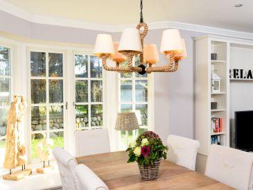 Ferienhaus Schottels Huis - Außen Sylt, Innen Hamptons