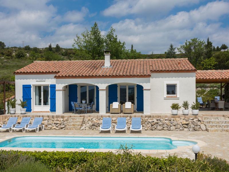 Ferienwohnung Villa Piscine Aux Cypresses