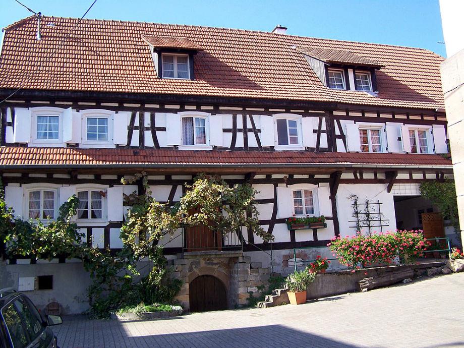 Unser Fachwerkhaus von 1738