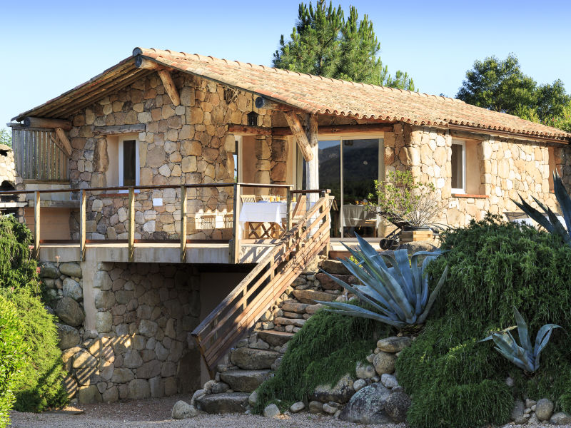 Holiday house Corsica rental authentic Corsican Bergerie with pool