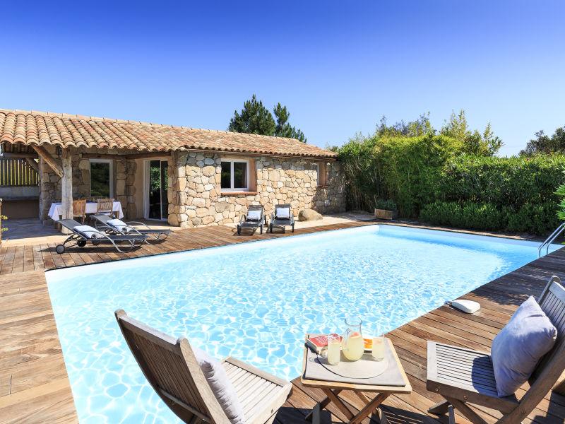 Korsika Ferienhaus (ehemaliger authentischer korsischer Schafstall) mit Pool