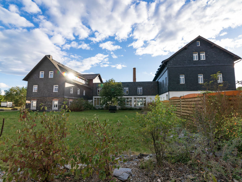 Landhaus Kaue und Remise und Gästehaus
