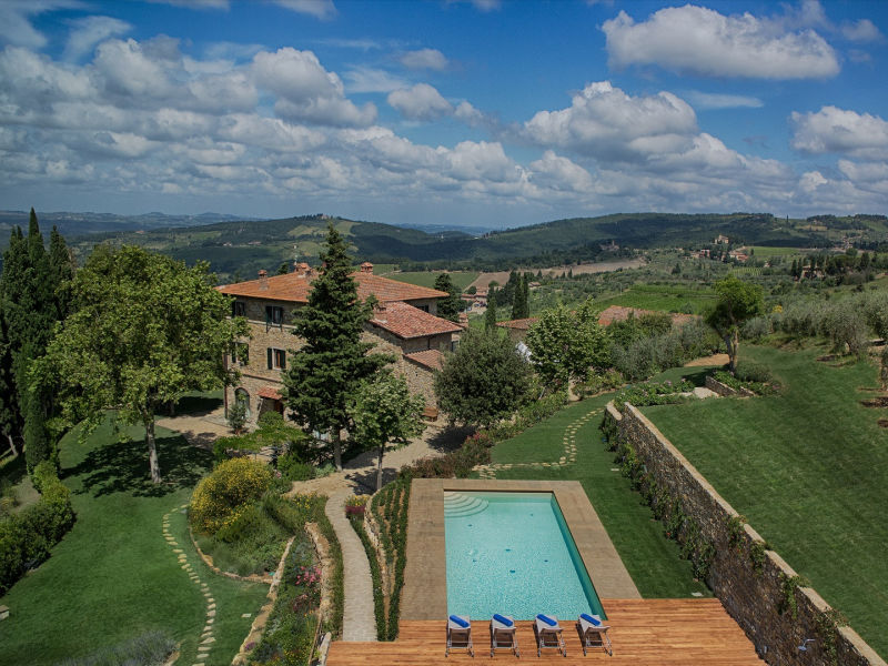 Apartment Luxury Chianti in La Rosa