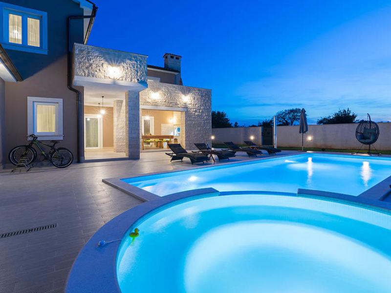 Villa Medaki mit privatem Pool in der Nähe von Rovinj