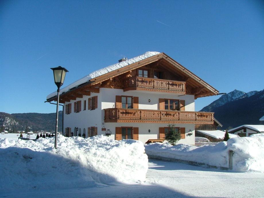 Willkommen in der Ferienwohnung Alpspitzblick