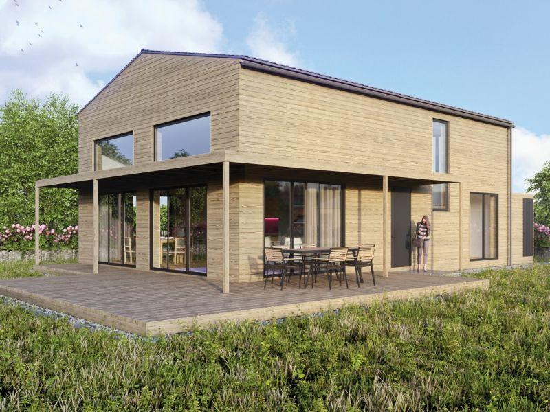 Gud Jard Chalet - Wohngesundes Design-Ferienhaus