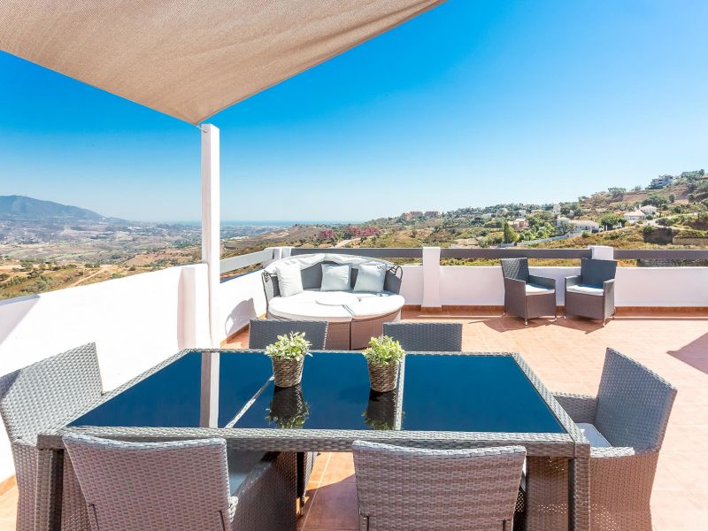 Ferienwohnung Marbella Penthouse Meerblick