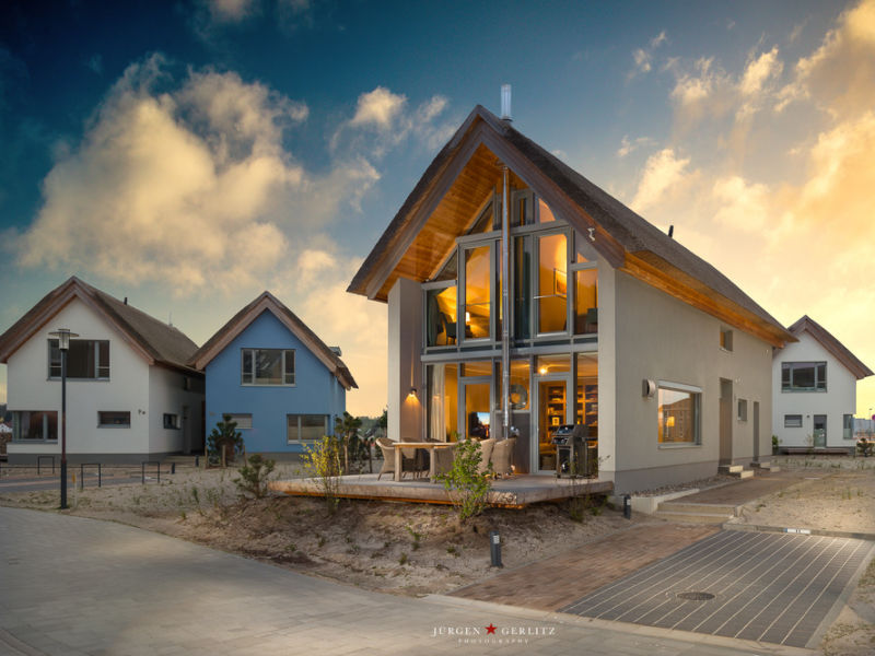 """Ferienhaus Ostsee - Reetdachhaus Nr. 11 """"NEWPORT"""" im Strand Resort"""