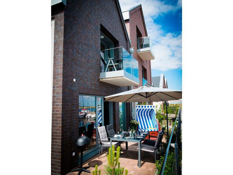 """Ferienwohnung Ostsee - Maisonette - Appartement Nr. 53 """"Schöne Aussicht"""" im Strand Resort"""
