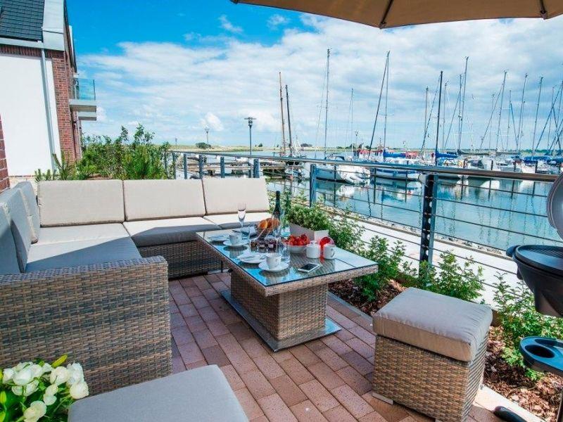 """Ferienwohnung Ostsee - Maisonette - Appartement Nr. 54 """"Marina-Blick"""" im Strand Resort"""