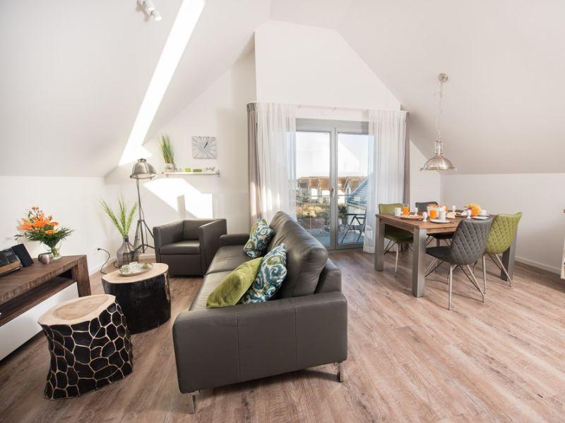 """Ferienwohnung Ostsee - Appartement Nr. 65 """"Seaside"""" inkl. Strandkorb im Strand Resort"""