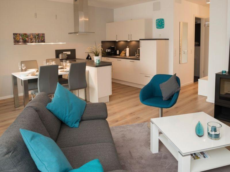 """Ferienwohnung Ostsee - Appartement Nr. 87a """"Strandkorb"""" im Strand Resort"""