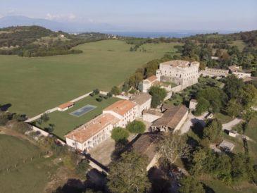Ferienwohnung Luxusappartement mit Pool in historischer Umgebung IL BORGO DI DRUGOLO (App.4 )