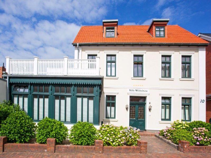 Ferienwohnung Klein-Wiebke in der Villa Wilhelmine