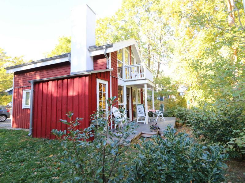 Ferienhaus Muschel mit Terrasse