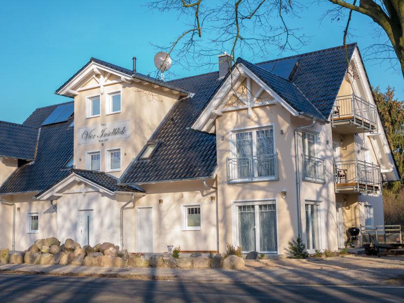 Villa Vier Inselblick - Ferienwohnung Ruden